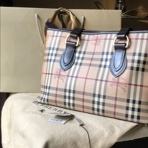 BURBERRY All Regent classic brown pattern bag